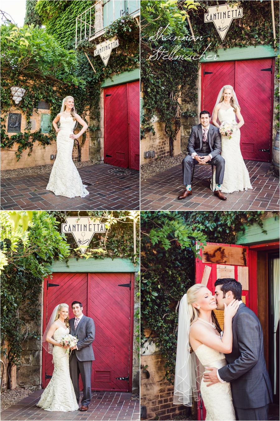 Tra Vigne Wedding Portraits