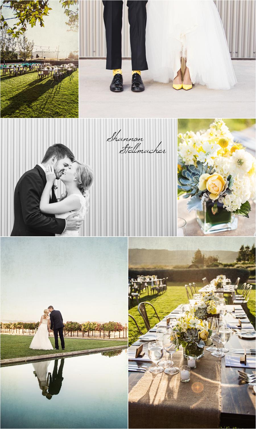 Sonoma Wedding Cornerstone