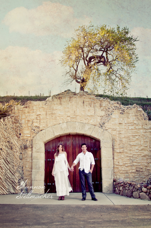 Engagement Shoot at Sunstone Winery