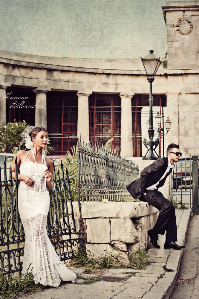 Corfu Greece Bridal Couture