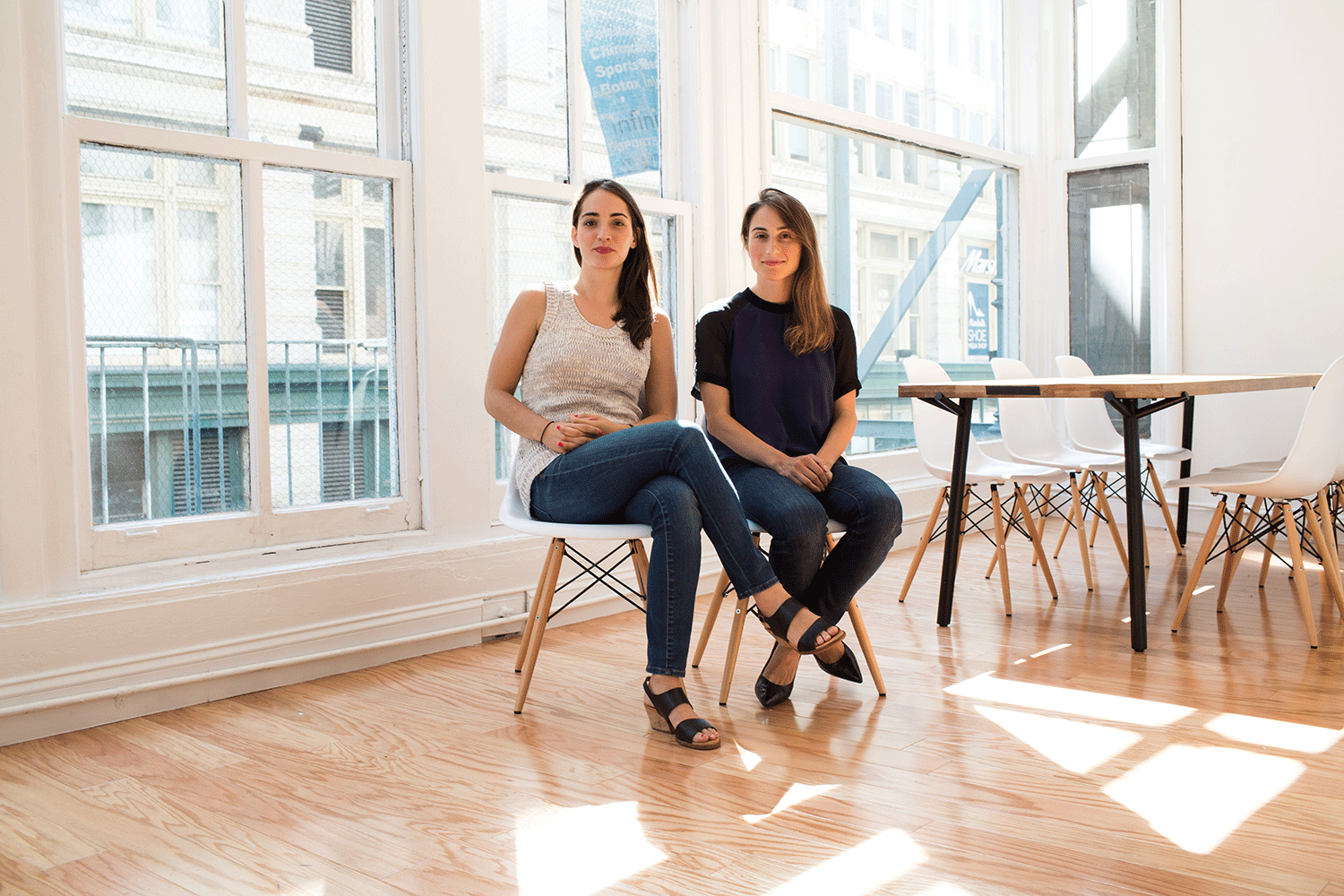 Hello Alfred co-founders Marcela Sapone and Jessica Beck   All images courtesy of Hello Alfred
