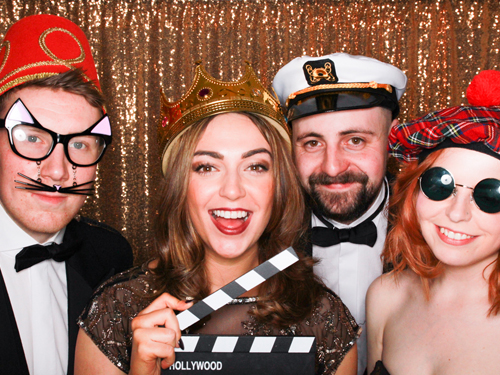 Entertain your guests with a photo booth that will surely be a big hit on your special day. Unlimited pictures, fun props and laughs galore.