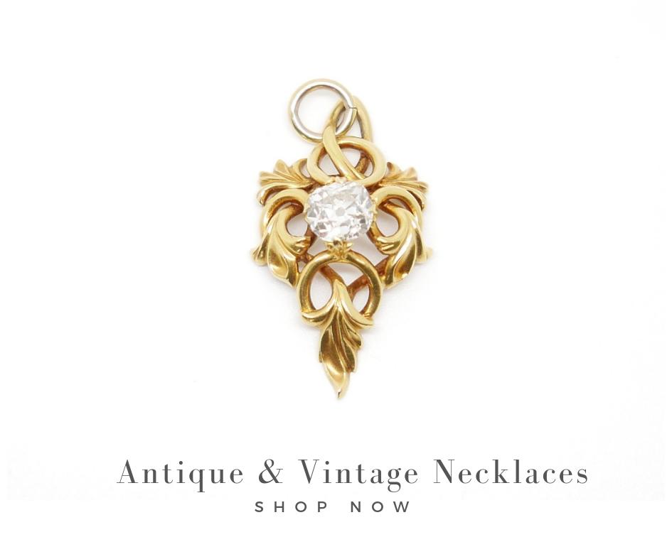 antique and vintage necklaces