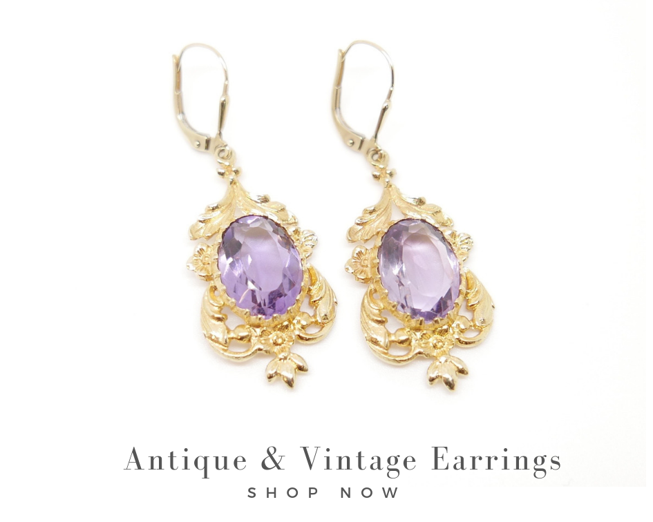 antique and vintage earrings