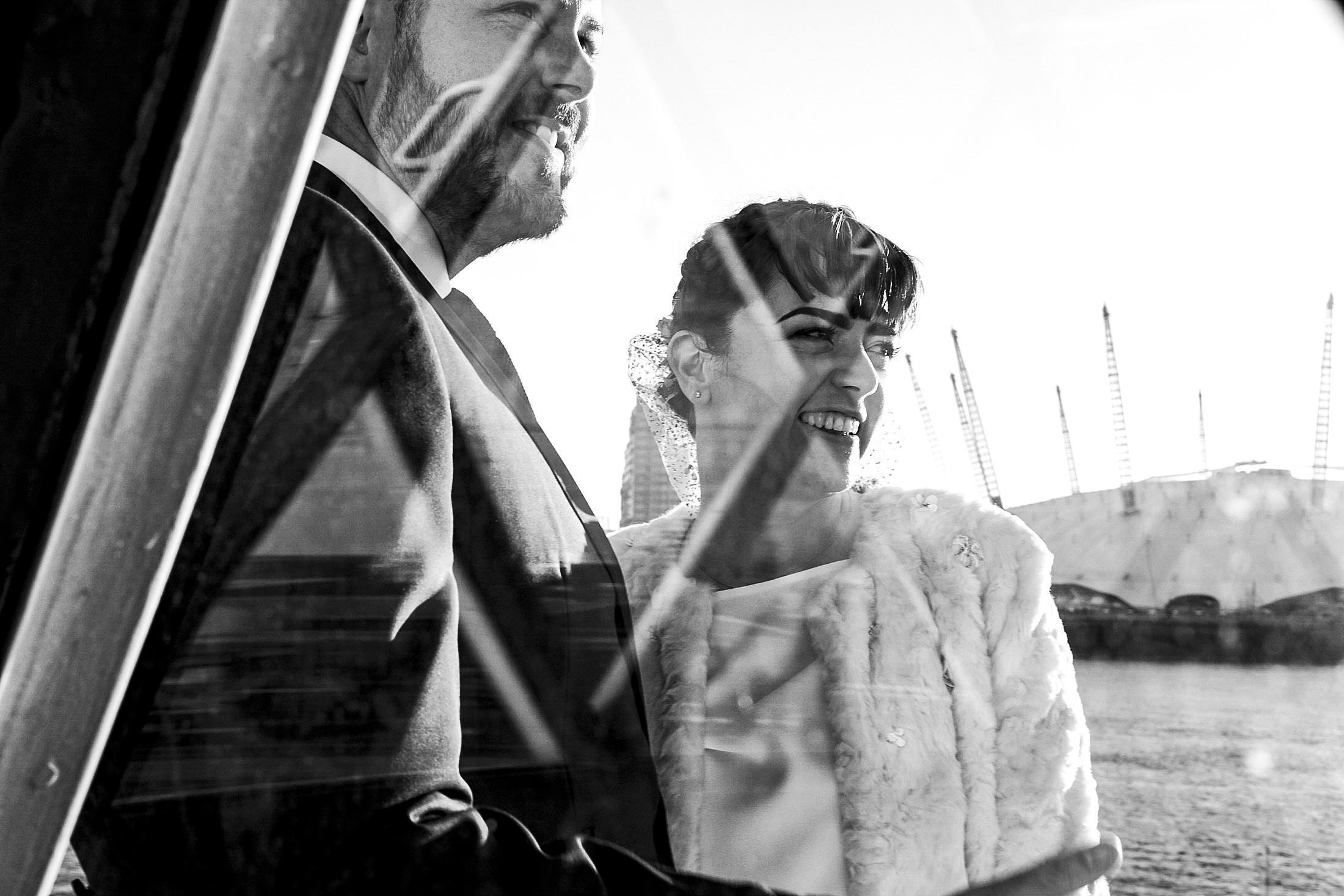 Lighthouse Wedding Portrait
