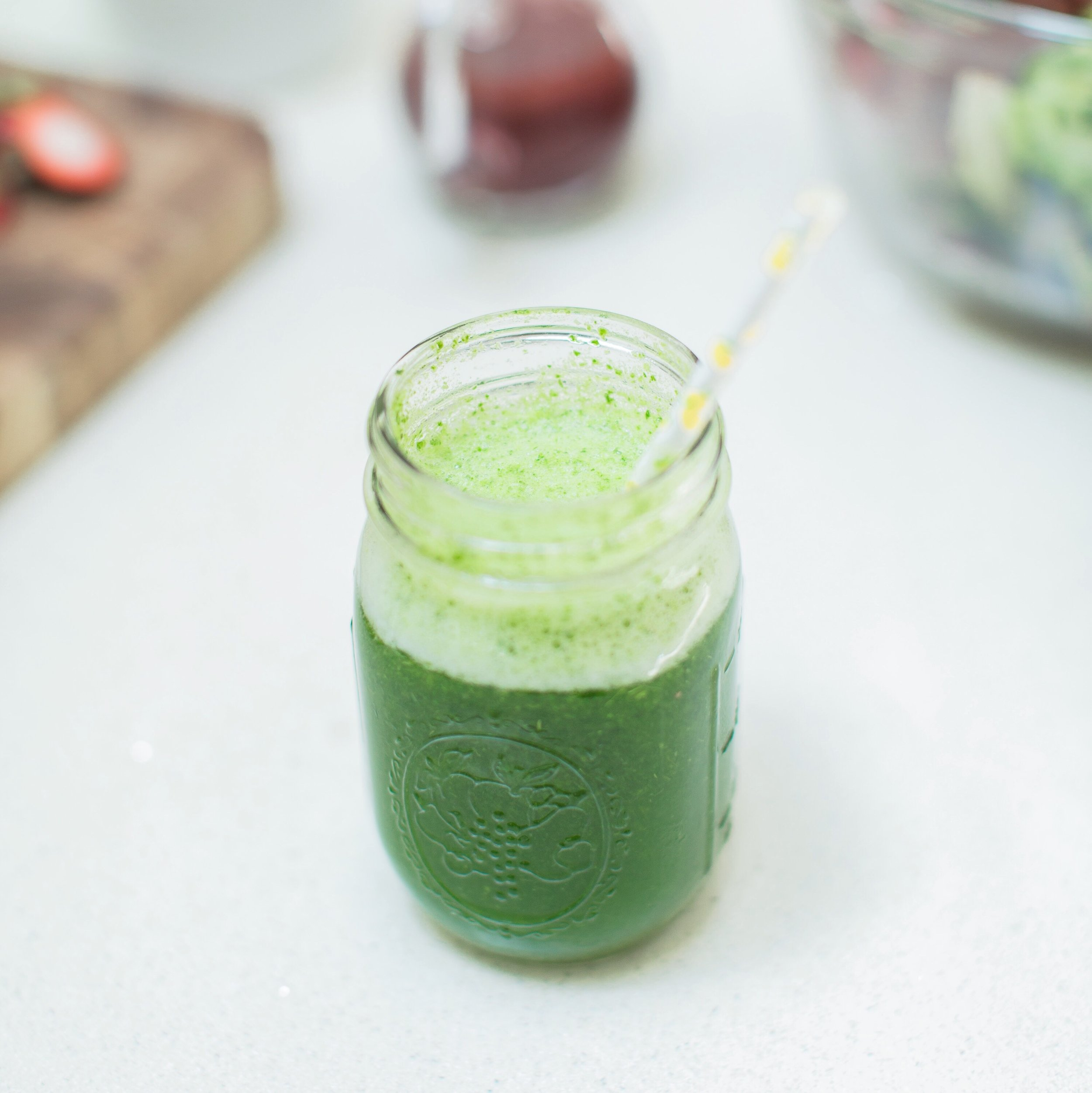 green matcha smoothie.JPG