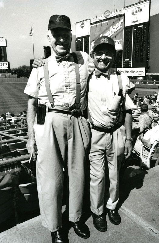 Stan and Lou, Usher's at Shea Stadium