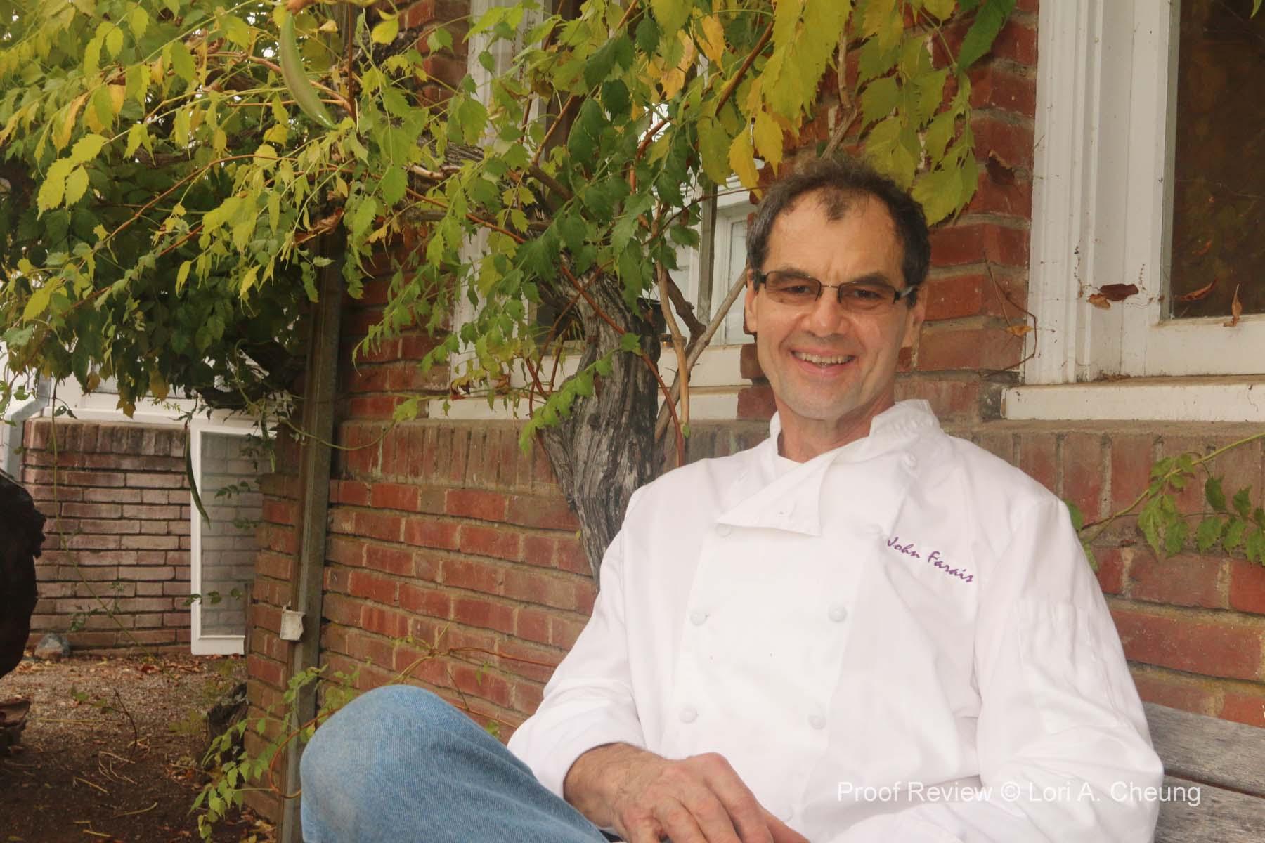 Chef John Farais,Marin County's Native Plant Specialist and Food Educator