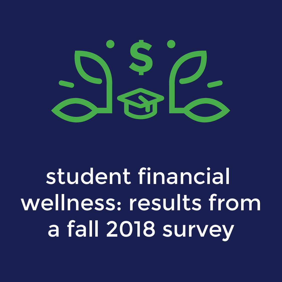 6.12.19 | 2:00-3:00pm EST - Trellis' Student Financial Wellness Survey (SFWS) seeks to document the financial well-being of post-secondary students and provide institutions with a detailed profile of the financial issues their students face, some of which could potentially impact their success in college. In this session, the presenter will share findings from the Fall 2018 survey and discuss the context and implications of the findings for institutions. Student financial wellness topics covered include how students pay for college, attitudes on debt, basic needs security, student debt, academic goals, public assistance usage, and financial obligations to family. The SFWS is free for institutions to use, and Trellis is currently recruiting institutions to participate in the Fall 2019 semester implementation.Presenter:Kasey Klepfer, Senior Research Analyst for Trellis Research.