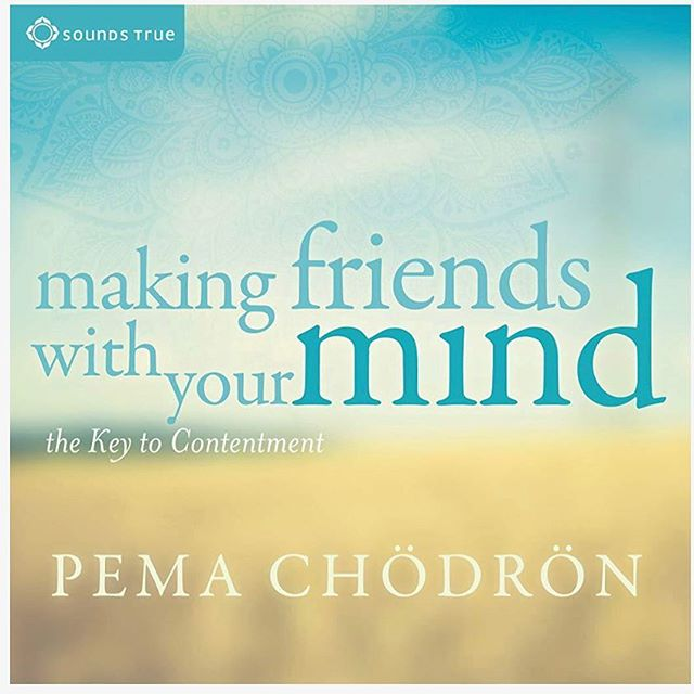 """Open warm awareness to whatever arises...."" Pema Chodron.  Just finished listening to @anipemachodron on @audible. She is full of wisdom and inspiration!  #clearyourmind #breathe first #pemachodron #pema #wordsofwisdom #wordsofencouragement #thishumanjourney #stepbystep"
