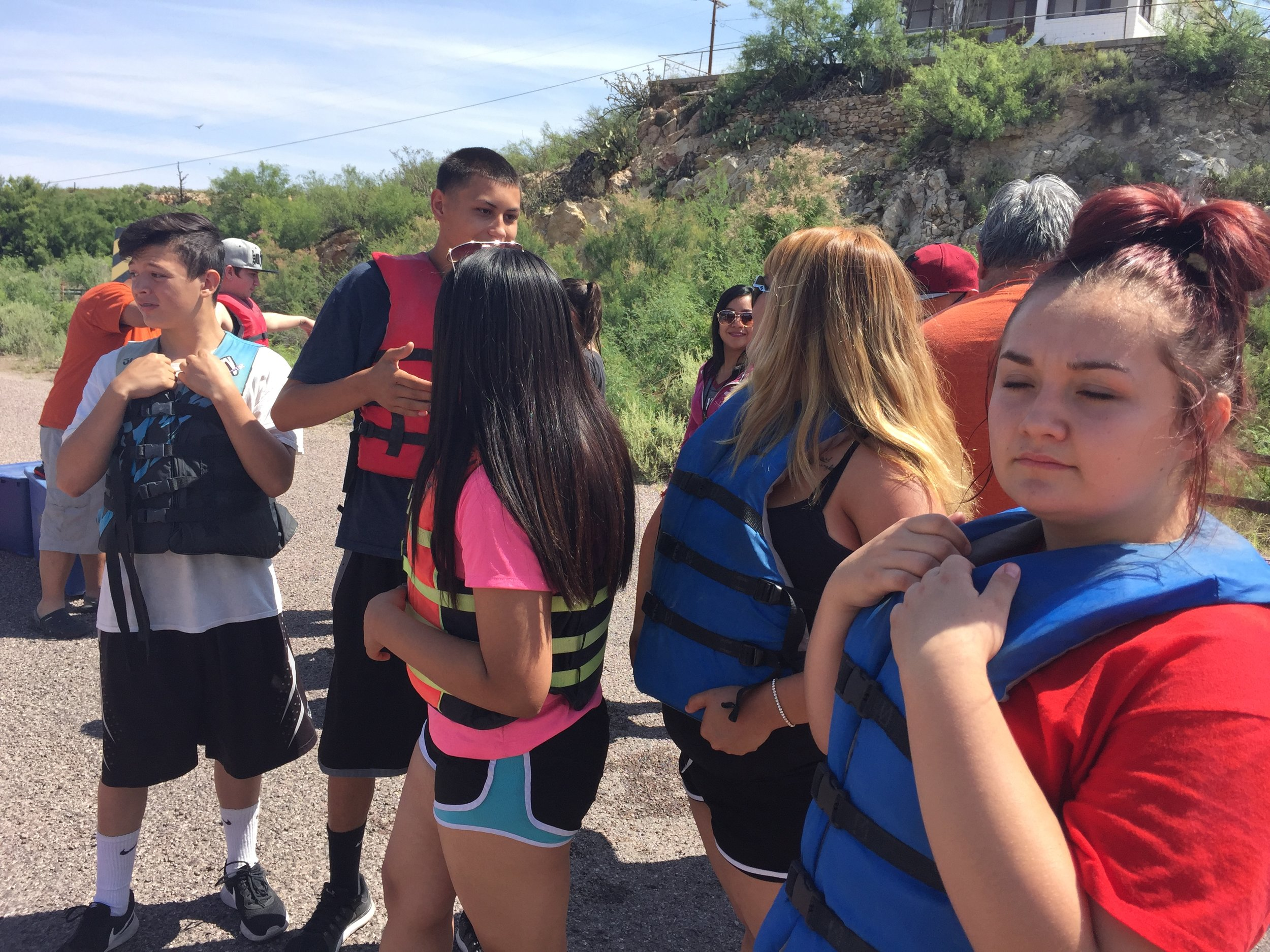 Rafting the Rio Grande with JCC Youth