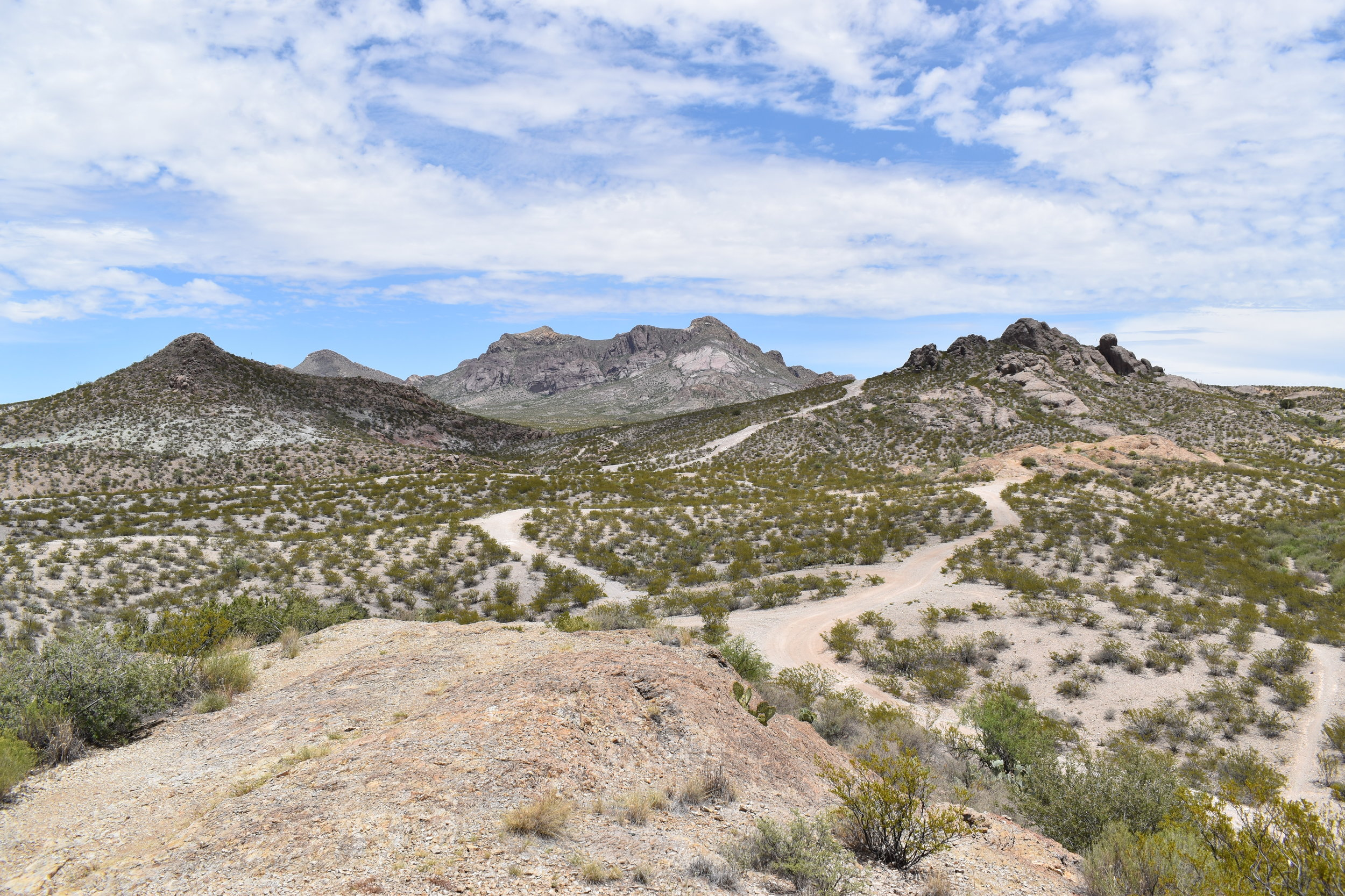 The Doña Ana Mountains