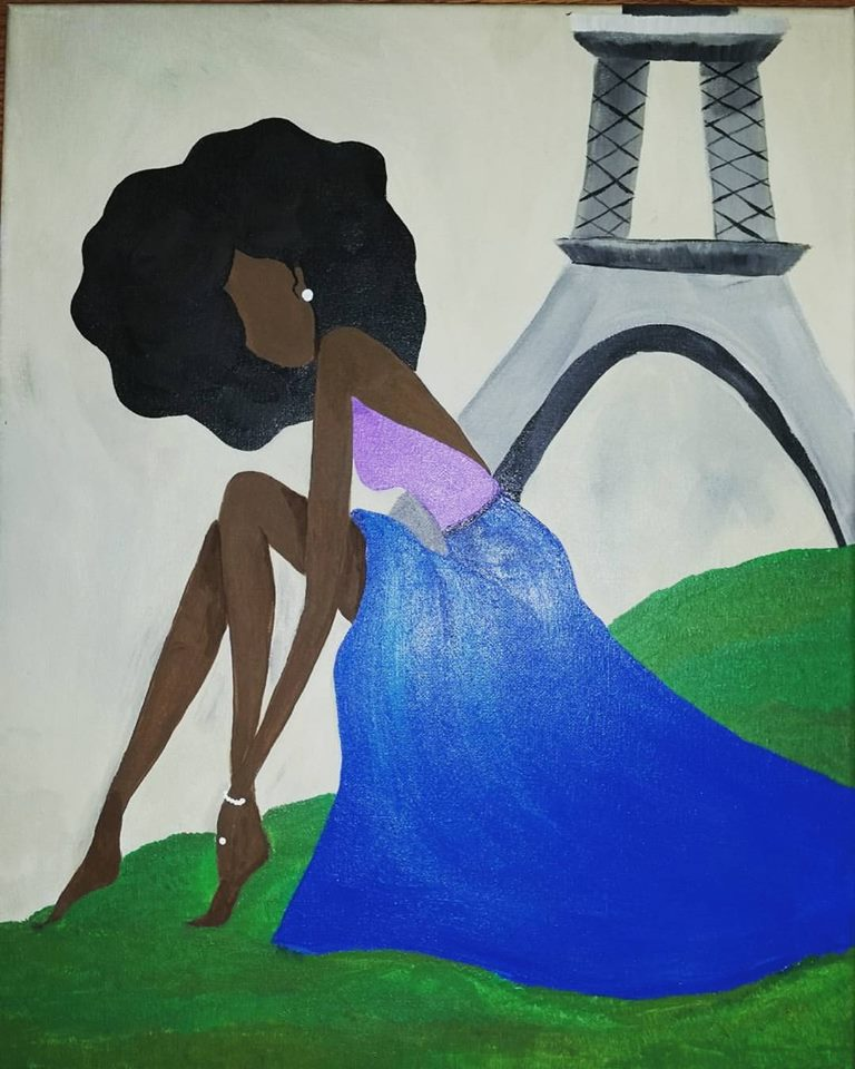 Afro in Paris