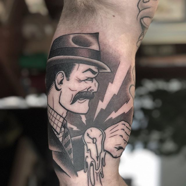 Time is a precious commodity, and we have time for you. Work in progress by @camtattoos  #flagstafftattoos #downtownflagstaff #aztattooer #mirrorgalleryflagstaff #wip