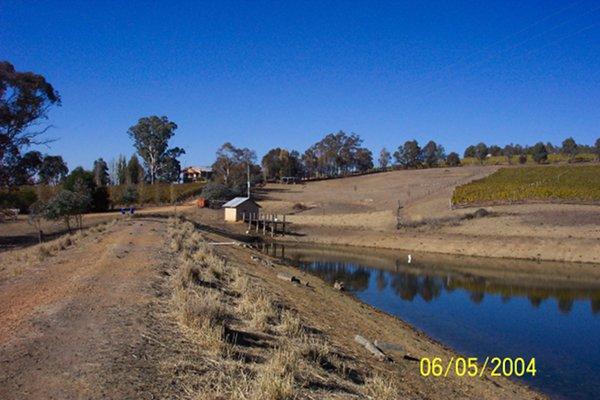 Severe late autumn drought