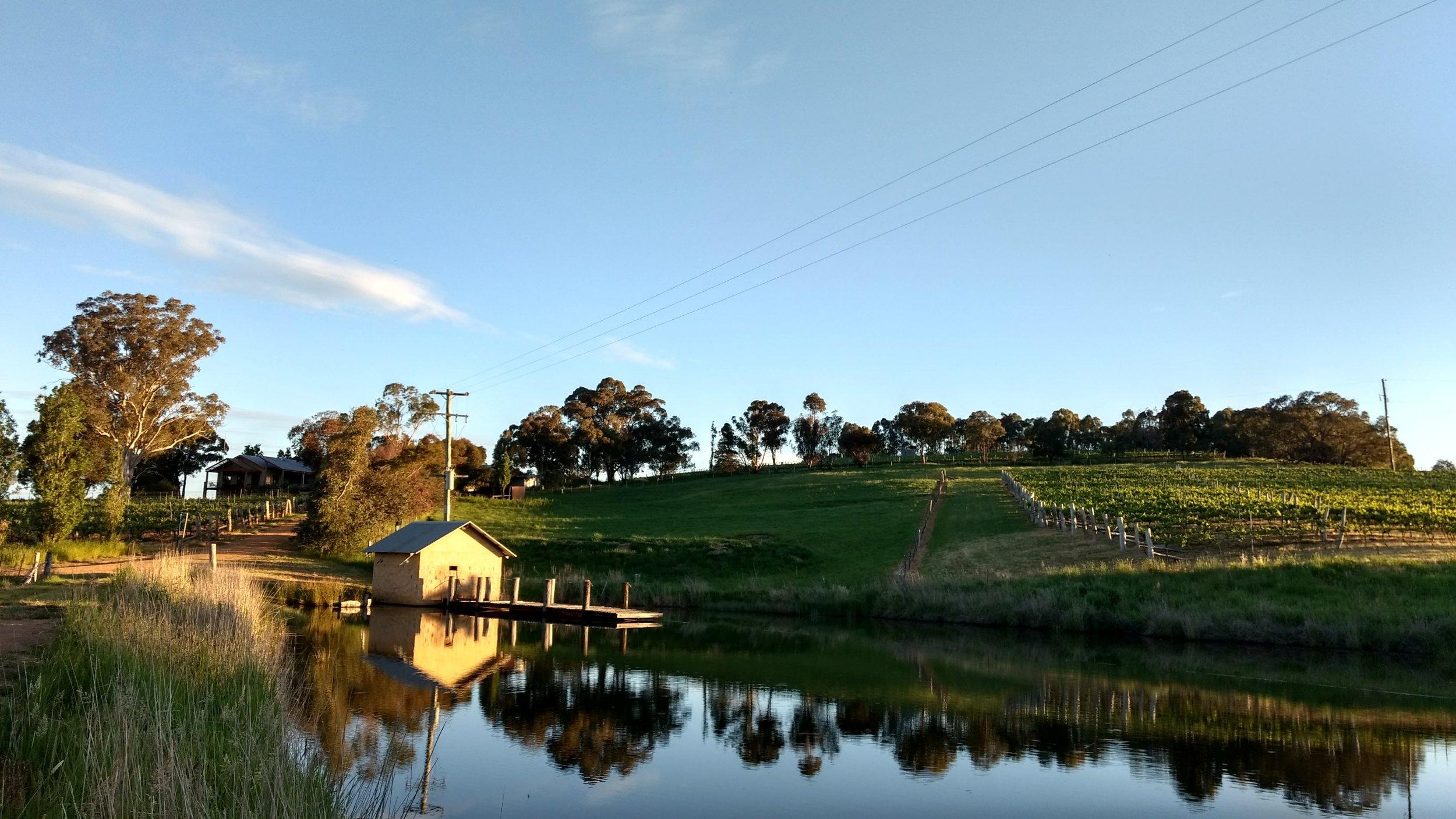 Flood rain in late Spring