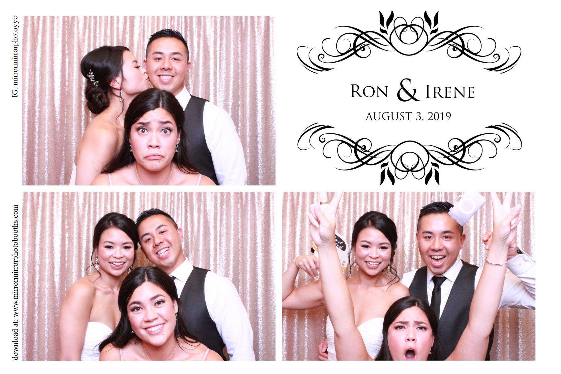 Irene & Ron's Wedding - Aug 3, 2019
