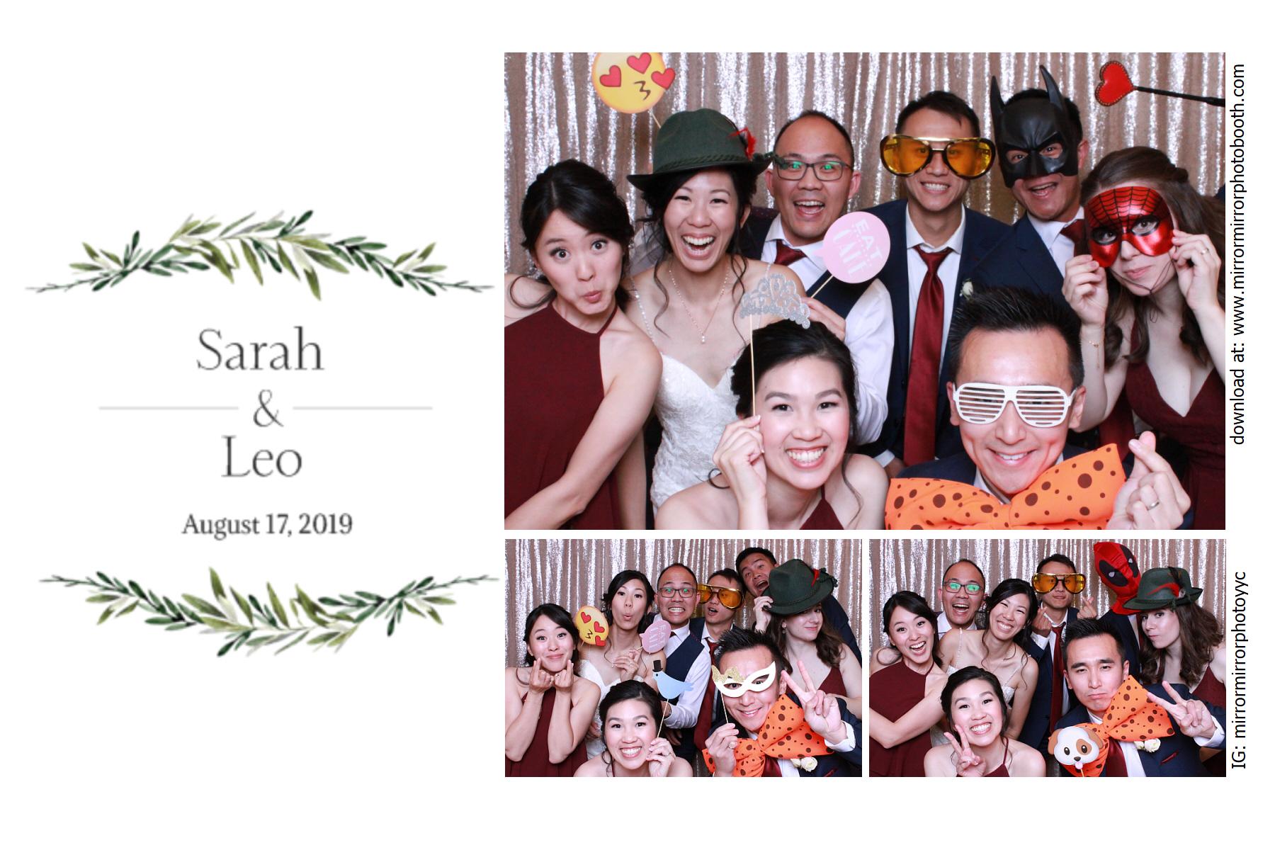 Sarah & Leo's Wedding - Aug 17, 2019