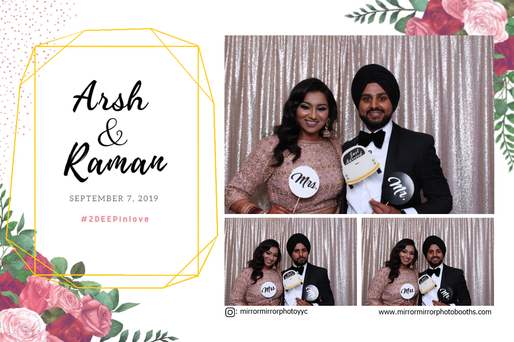 Sep 7, 2019 - Arsh & Raman's Wedding