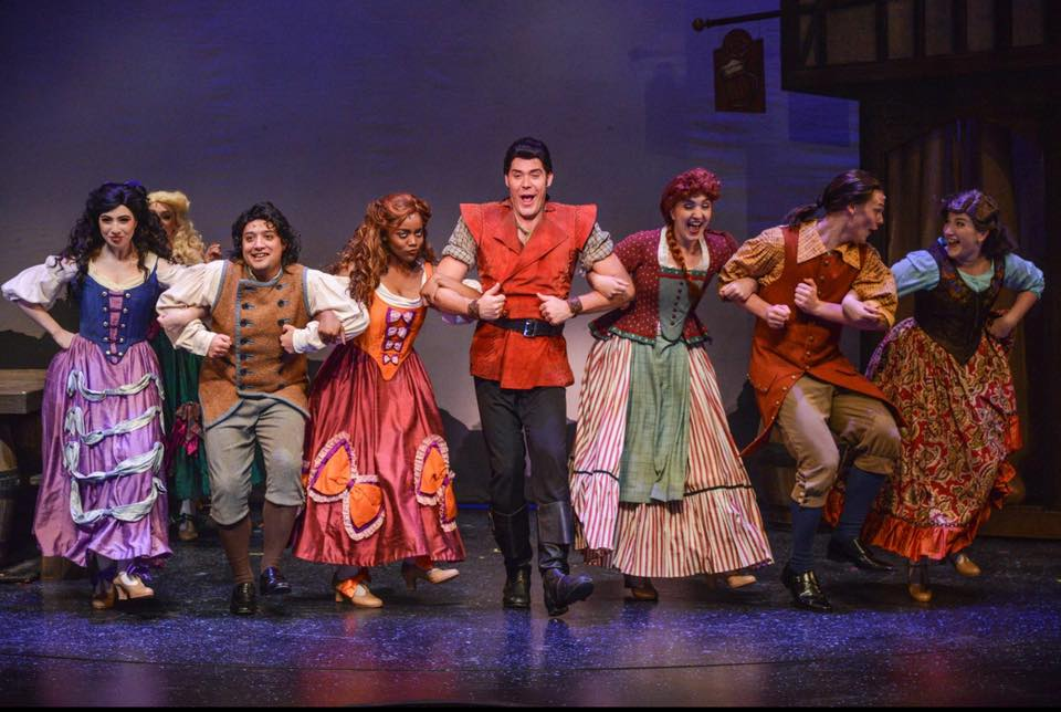 Victoria in ZACH Theatre's production of  Beauty and the Beast.