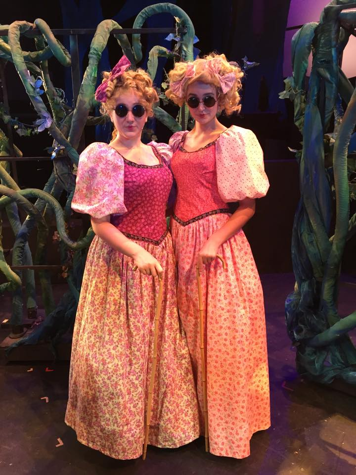 Victoria as Florinda in  Into the Woods  with Summerstock Austin.