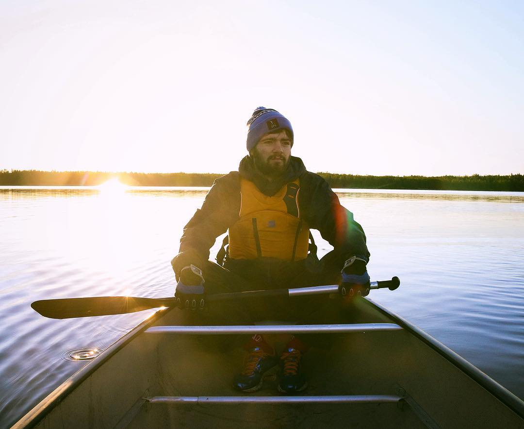 Sam Anthony - Sam is one of the founders of Twin River Travel. Sam grew up in Winnipeg, but spent his summers paddling through the lakes of Northwestern Ontario. He was 3 years old when he took his first trip, and hasn't missed a summer since. In the offseason Sam works as a Polar Bear guide up in Churchill and runs cross-country ski programs in indigenous communities across northeast Manitoba. Outside of work (if you can call it that when your job is so fun!), Sam is also an avid hiker, with highlights including spending 3 weeks hiking through various areas of the Georgian Caucasus, and a week long trek through the Simien Mountains of Ethiopia. Sam's dream paddling trip is the Seal River in Northern Manitoba.