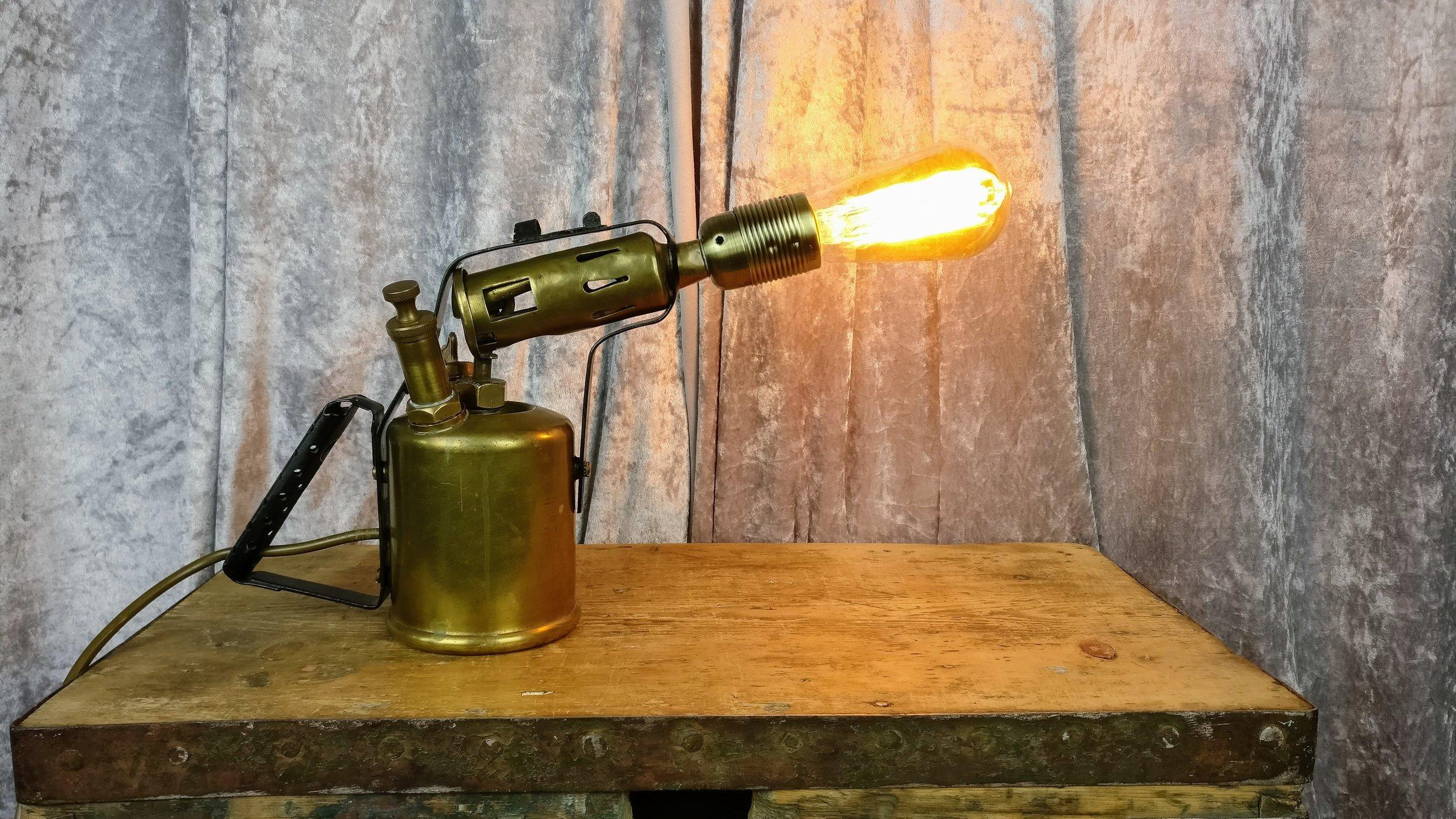 Gas Burner Lamp
