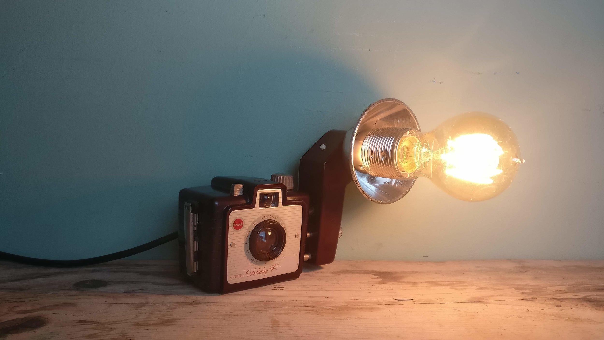 Kodak camera flash lamp