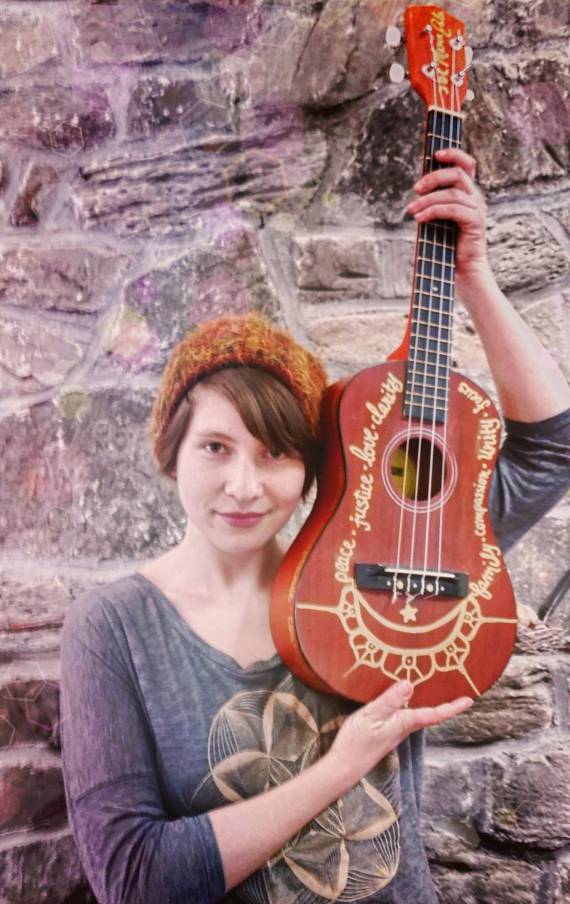 MamaDala is an enchantress who serenades with her sweet melodies and a baritone ukulele. She's in the process of changing your life, right now. How? (You might ask.) You gotta come to find out.
