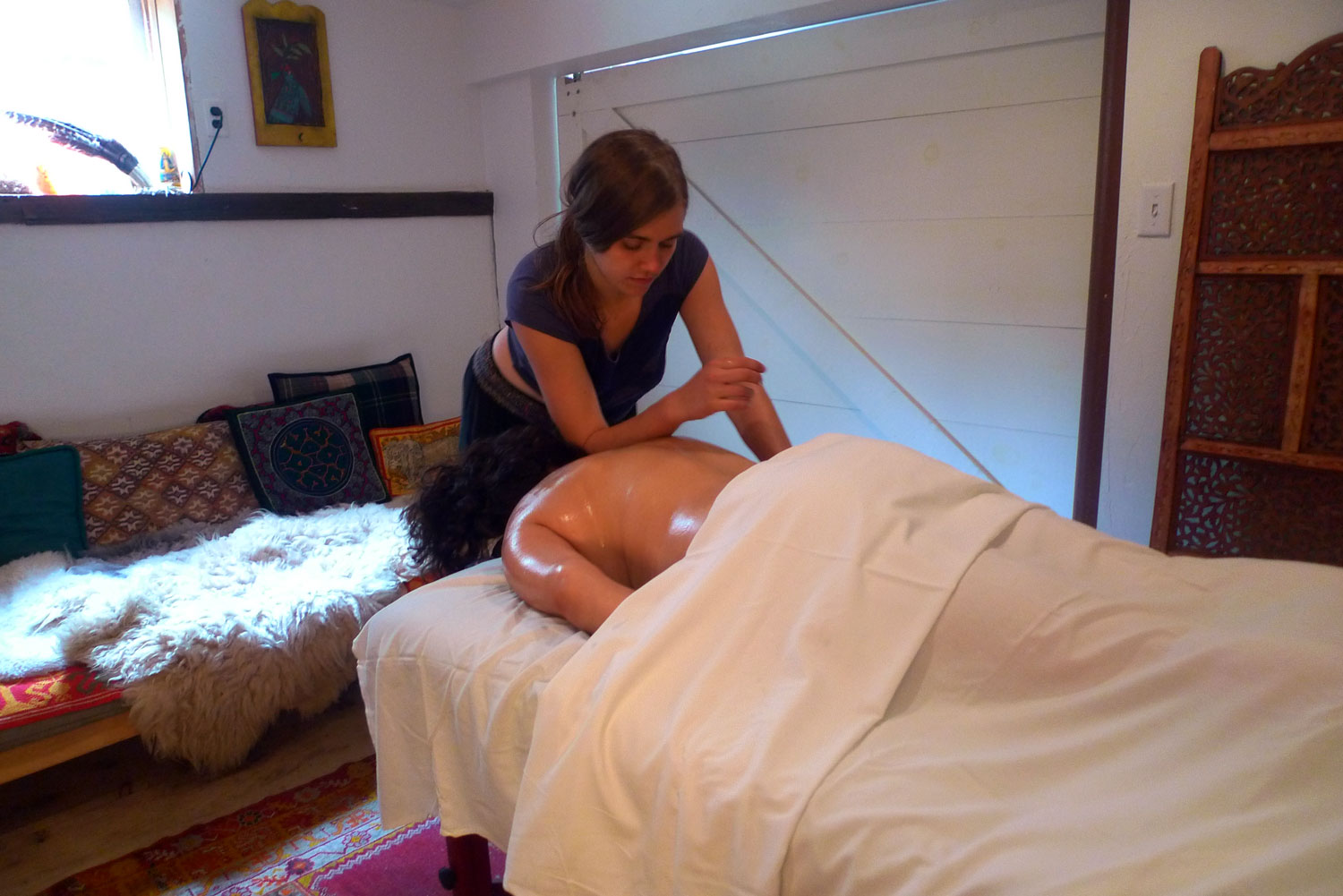 Massages by Hannah Kate Dwyer at Race Brook Lodge