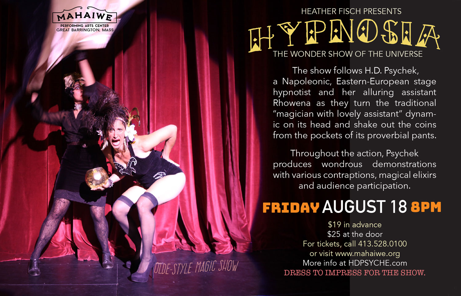 Hypnosia, the Wonder Show of the Universe