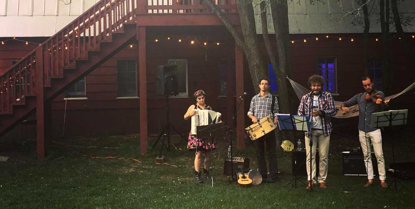 Sabiá will be performing at the Down County Social Club, Thursday October 19, 7-10pm