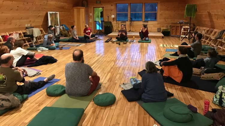 Sound Healing Meditation Class — Race Brook Lodge