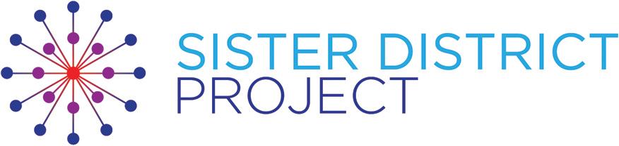 Sister District's logo.