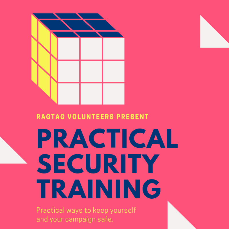 Ragtag volunteers present: Practical Security Training