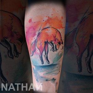 Chicago Watercolor Tattoo Artist || Nathan Galman — Nathan Galman ...