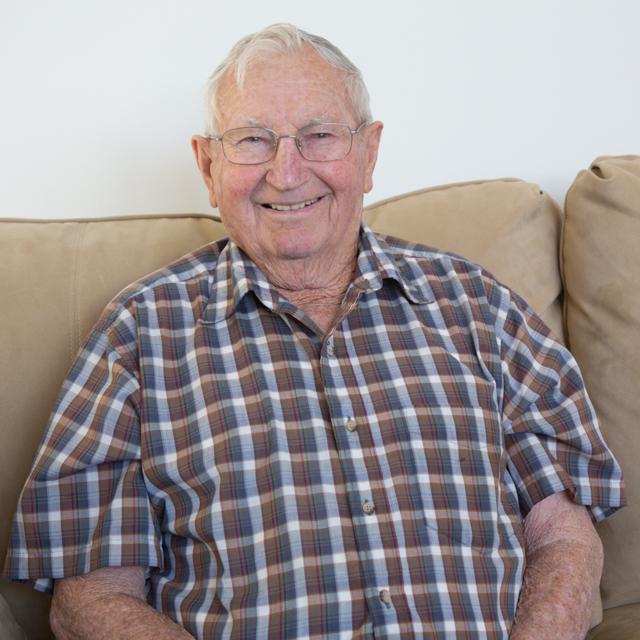 Eugene Pozzebon, age 89