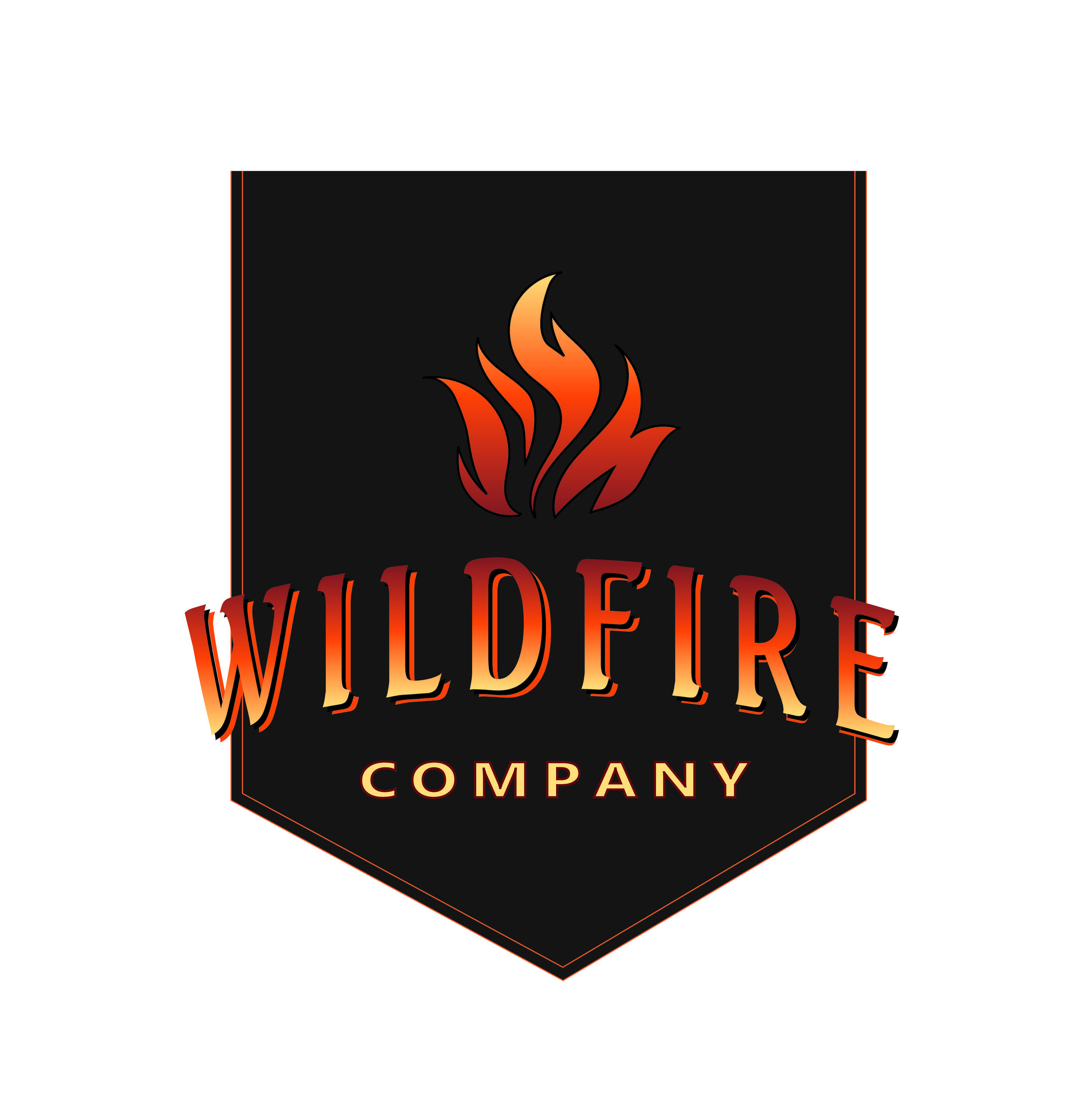 Mock logo for Wildfire Hot Sauce Company  September 2015