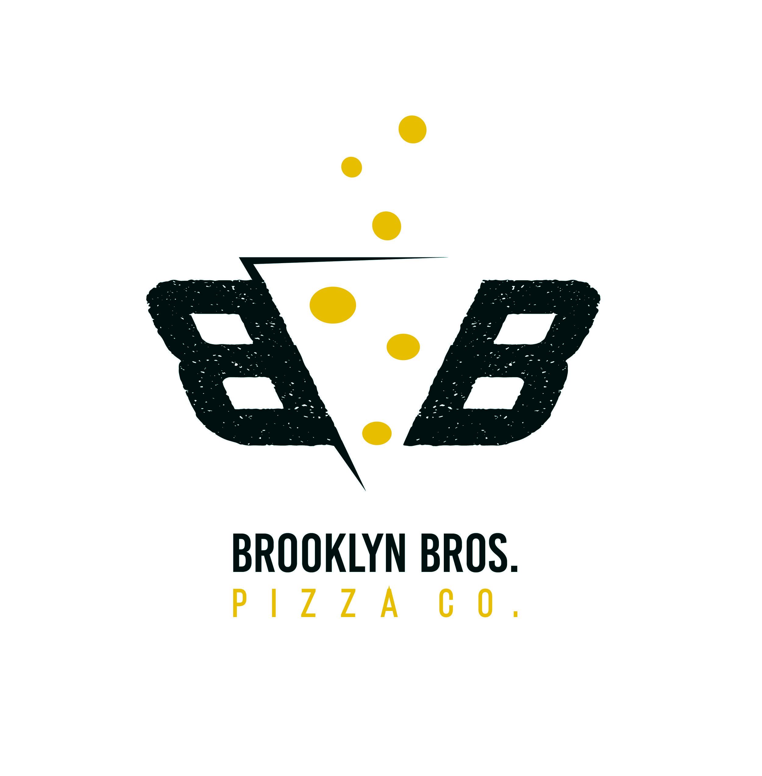 Mock logo for Brooklyn Bros. Pizza Company  October 2016