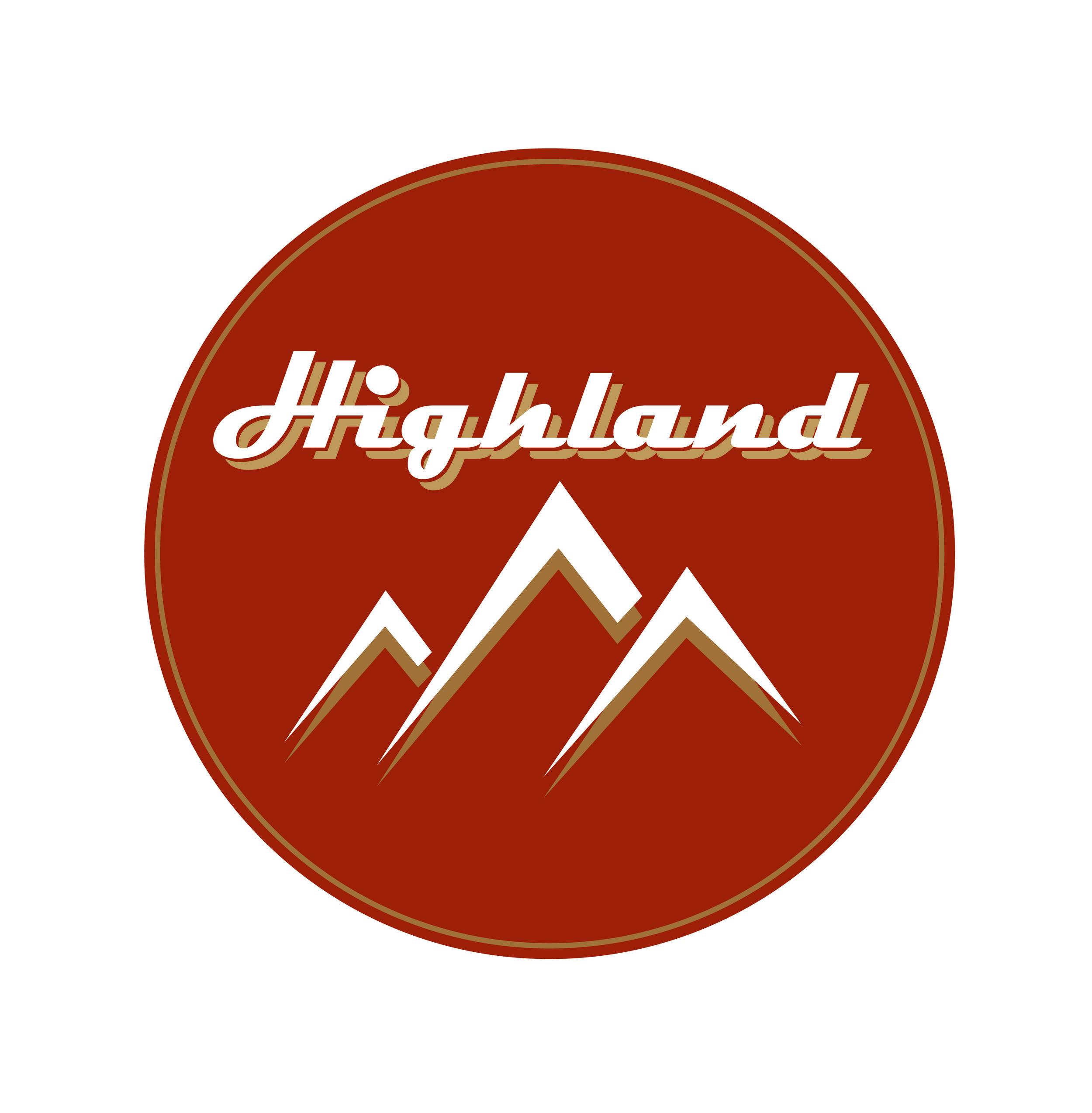 Mock logo design for Highland Wood Oil  December 2015