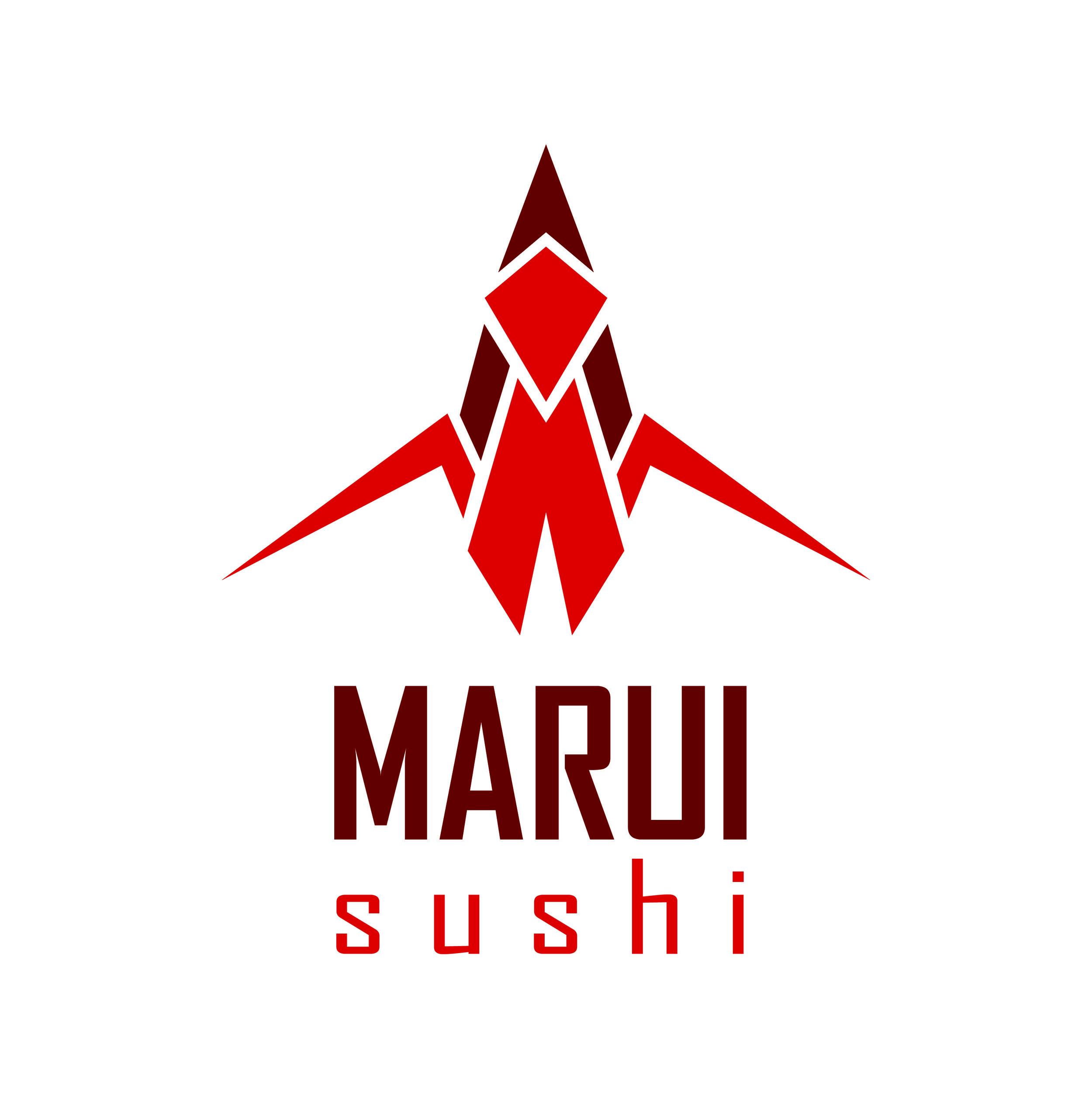 Logo redesign for Marui Sushi  November 2016