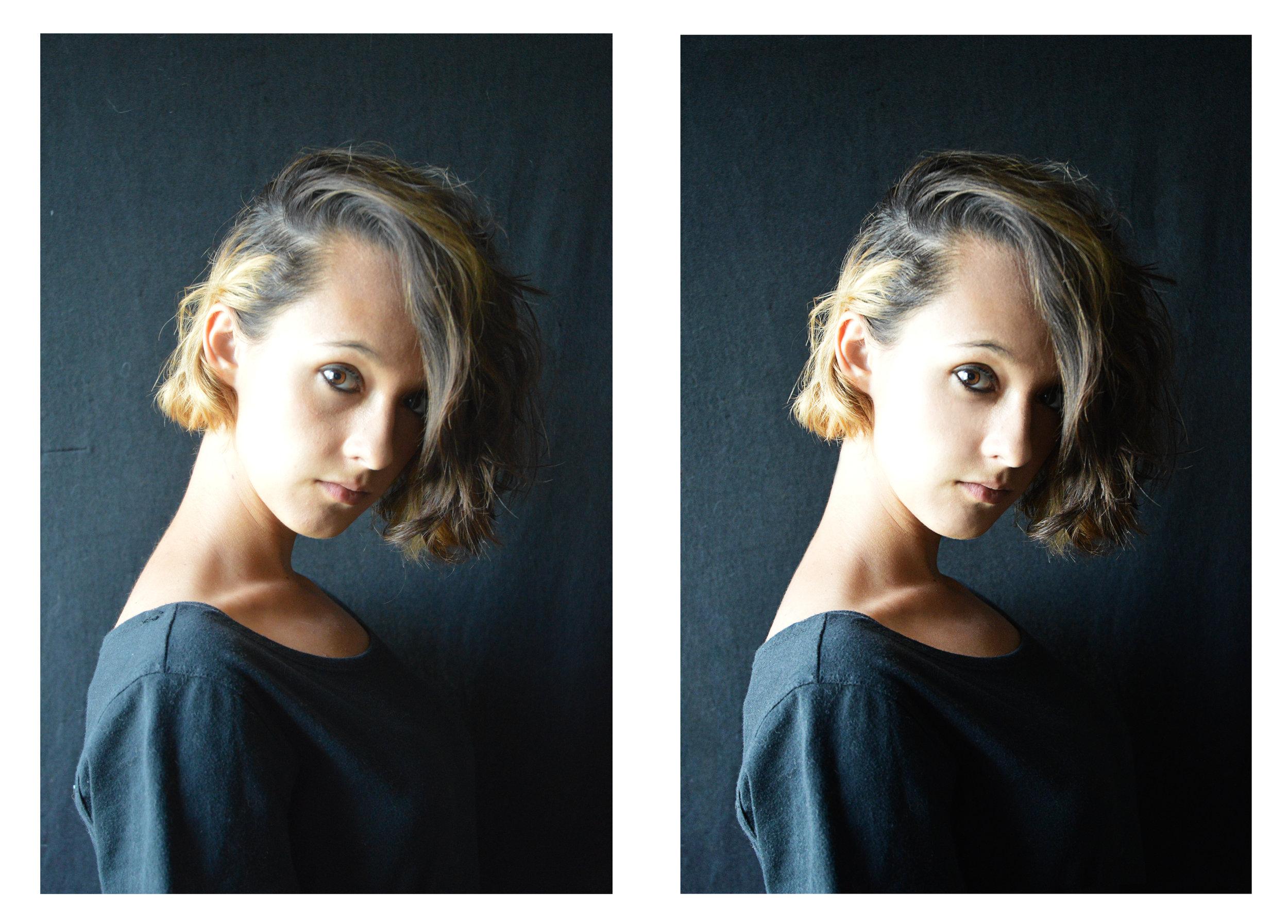 Retouched portrait. August 2017.
