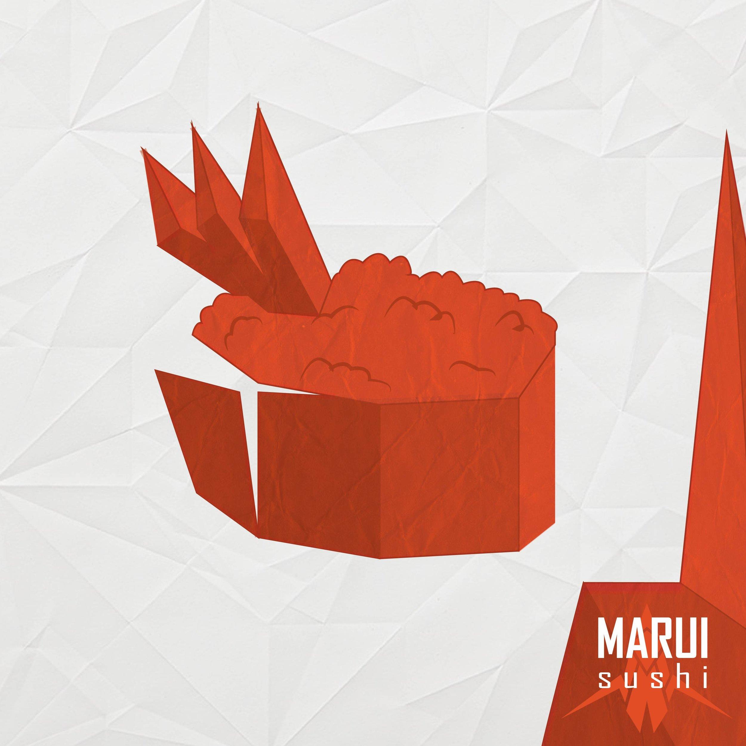Marui Sushi Instagram Ads 1/6