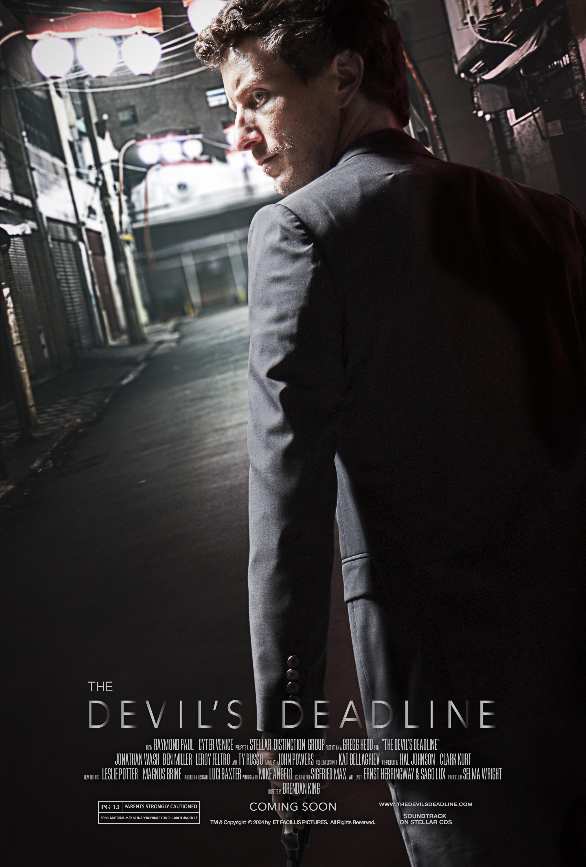 """""""The Devil's Deadline"""" (Style 2)  2 of 2 variant movie posters September 2018"""