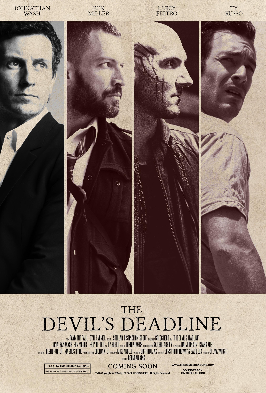 """""""The Devil's Deadline"""" (Style 1)  1 of 2 variant movie posters September 2018"""