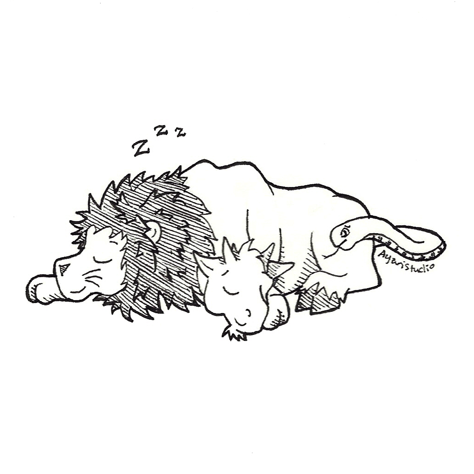 "Day 7 - ""Exhausted : Chimera"""
