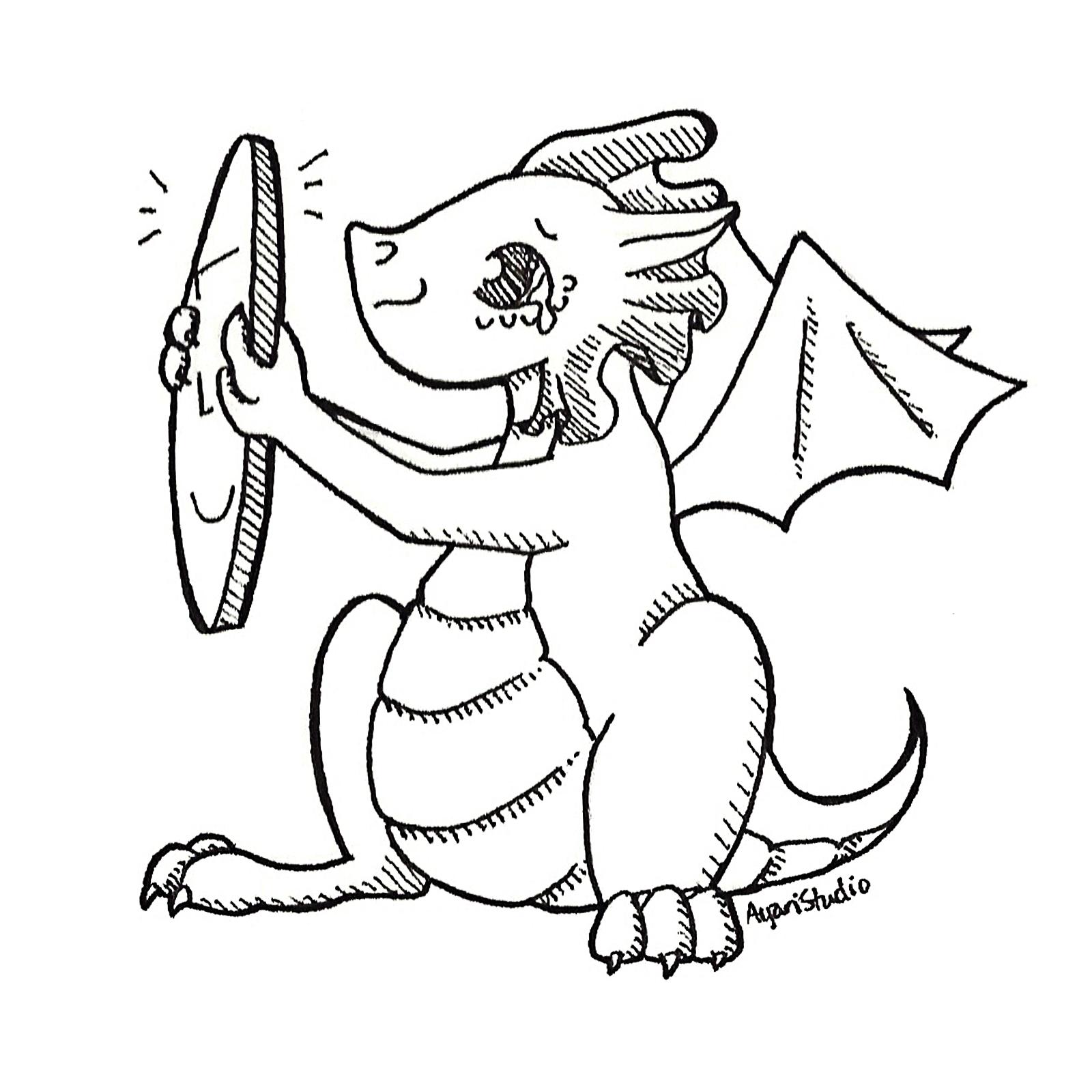 "Day 22.a - ""Expensive : Coin Fairy Dragon"""