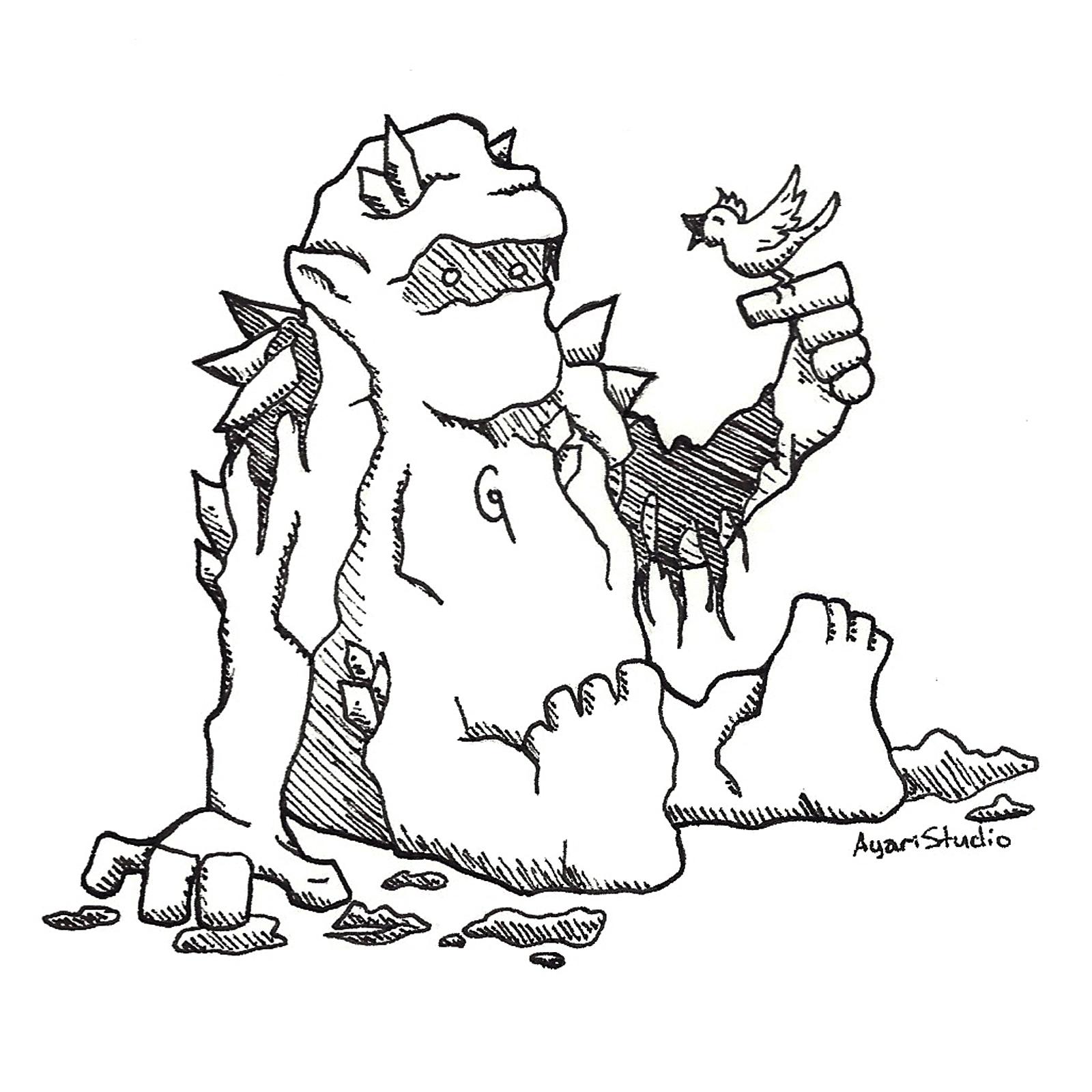 """Day 23 - """"Muddy : Golem"""""""