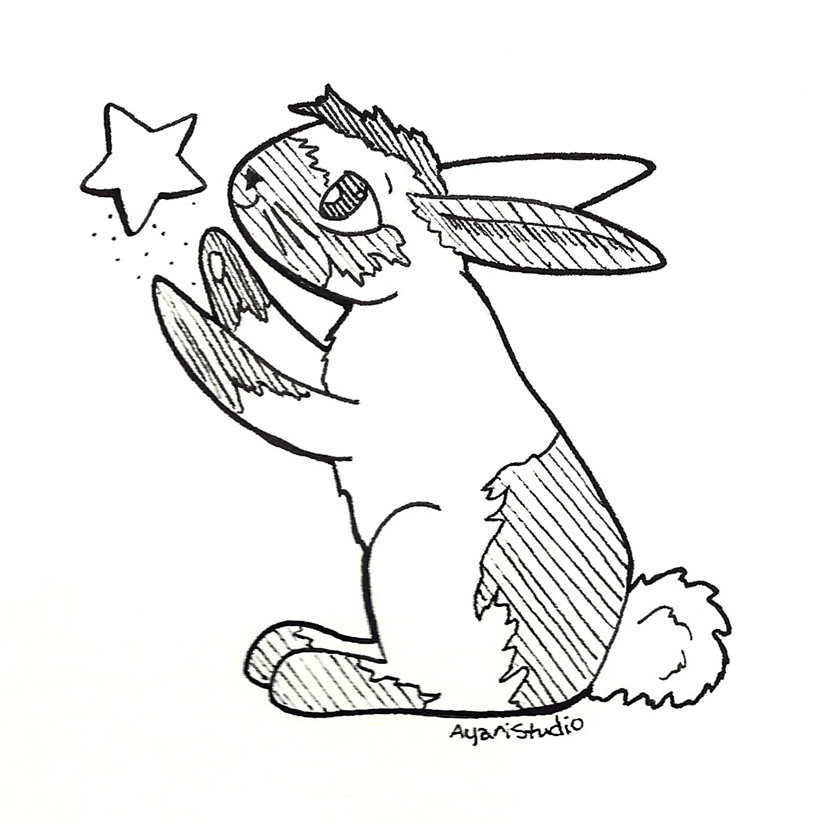 "Day 8 - ""Star : Moon Rabbit"""