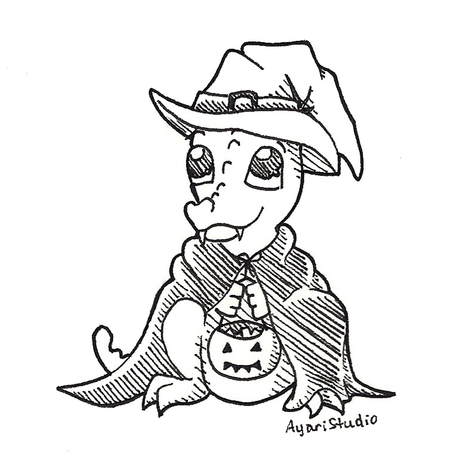 "Day 31 - ""Halloween : Pupdog"""